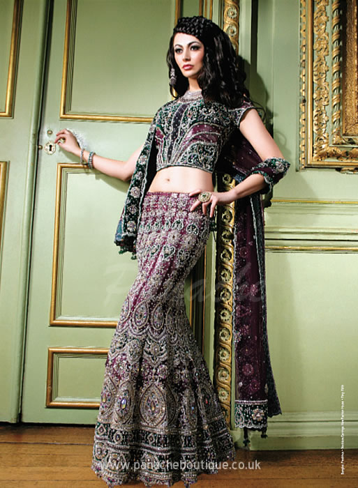 Indian And Asian Bridal Wear Fashion